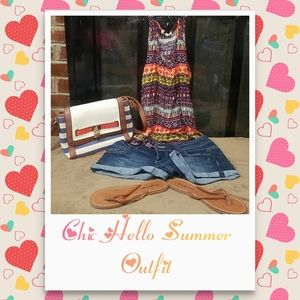 Chic Hello Summer 4 Piece Outfit
